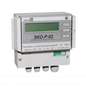 Расходомер с интегратором акустический ЭХО-Р-02 - фото 1