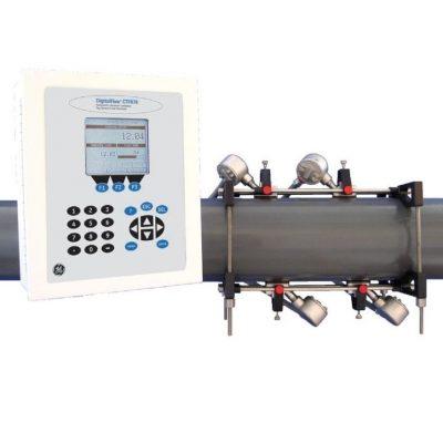 Стационарный ультразвуковой расходомер газов с накладными датчиками GE Sensing DigitalFlow CTF878 - фото 1