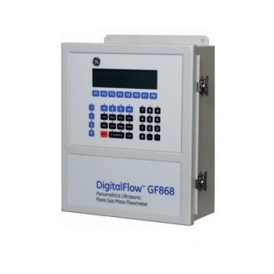 Ультразвуковой массовый расходомер факельного газа с улучшенными характеристиками GE Sensing DigitalFlow GF868 - фото