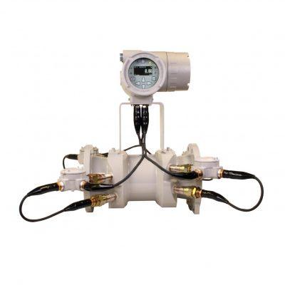 Ультразвуковой расходомер для коммерческого учета жидкостей и нефтепродуктов GE Sensing Sentinel LCT - фото
