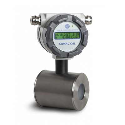 Промышленный электромагнитный расходомер Comac Cal Flow 38 с измерительным блоком - фото 1