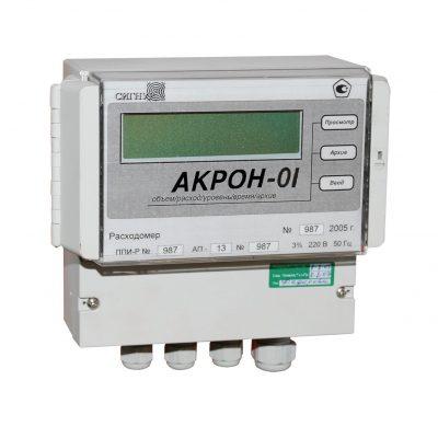 Ультразвуковой расходомер с накладными датчиками АКРОН-01 - фото 1