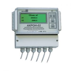 Ультразвуковой расходомер с накладными датчиками АКРОН-02-2 - фото 1