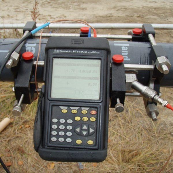 Одноканальный ультразвуковой объемный расходомер газа GE TransPort PT878GC - фото 3